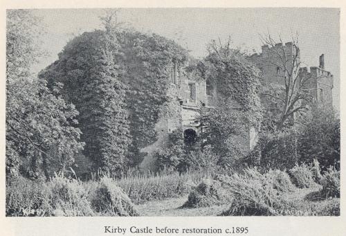 Kirby Muxloe Castle circa 1895