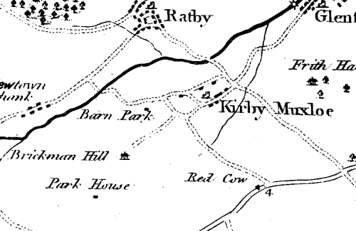 Ye Olde Mappe of Kirby Muxloe